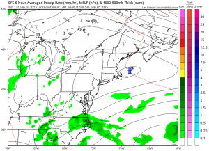 FRONT PUSHES SOUTH LOW PRESSURE OFF SE US COAST