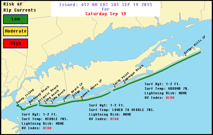 BEACH WEATHER & MARINE CONDITIONS LOOK GOOD FOR LONG ISLAND ...