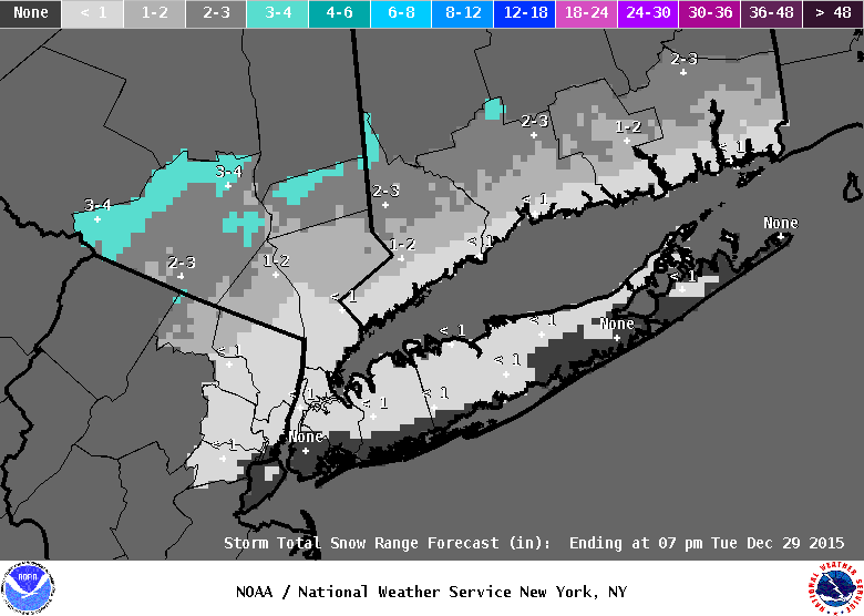 snow forecasts