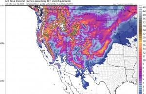 snow forecast ski resorts