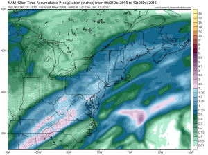 namprecip forecast models