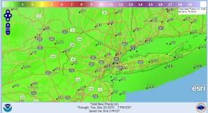 rainfall winter weather advisory