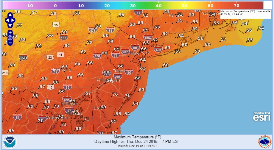 record high temperatures