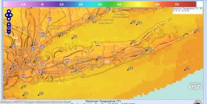 long island record highs