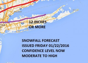 Blizzard Warning FiOS1 News Weather Long Island