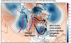 euro120 Models forecasting Late Week Snow Threat
