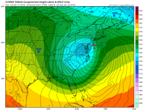 euro144 models forecasting late week snow threat