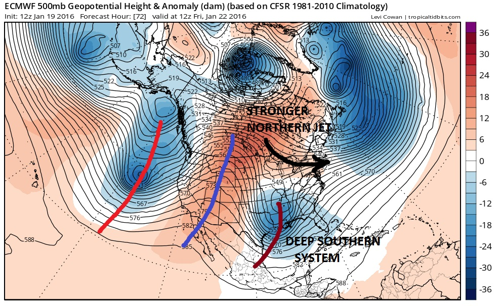 Late Afternoon GFS More Red Flags