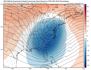 gem144 Models forecasting Late Week Snow Threat