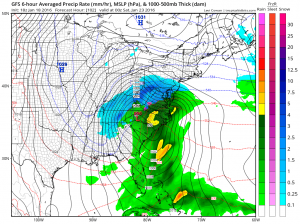 gfs102 Cold Temperatures Dry Through Friday