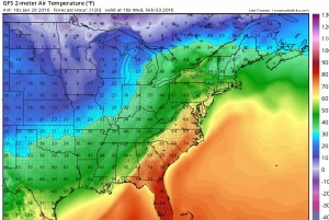 gfs120 Weekend Forecast Looking Good