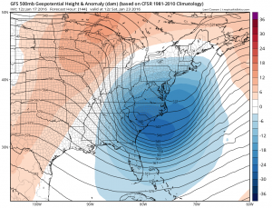 gfs144 Models forecasting Late Week Snow Threat