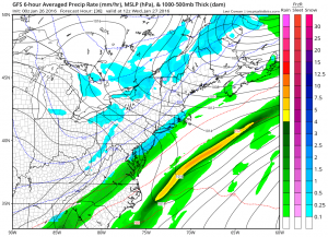 Milder Tuesday Storm Threat Diminishes