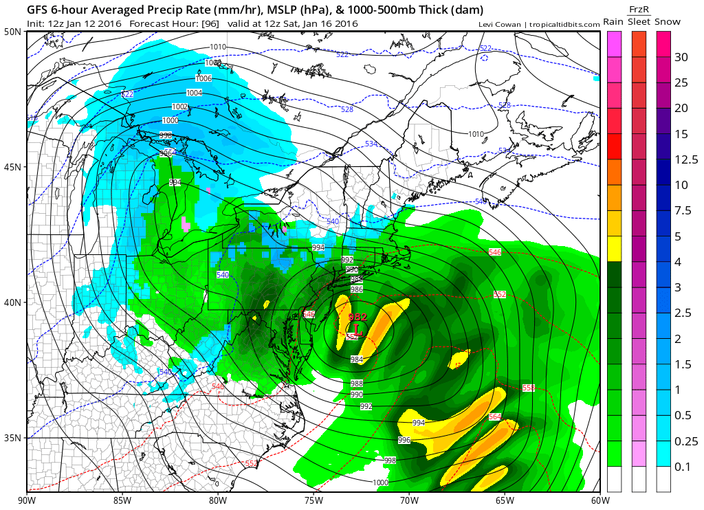 noreaster threat