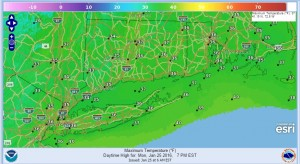 hartford Milder Air Moving To Northeast