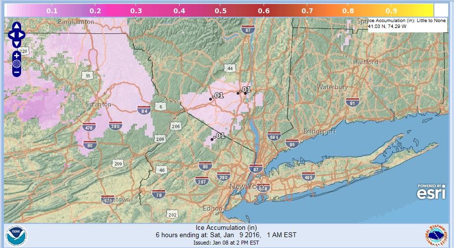 freezing rain winter weather advisory