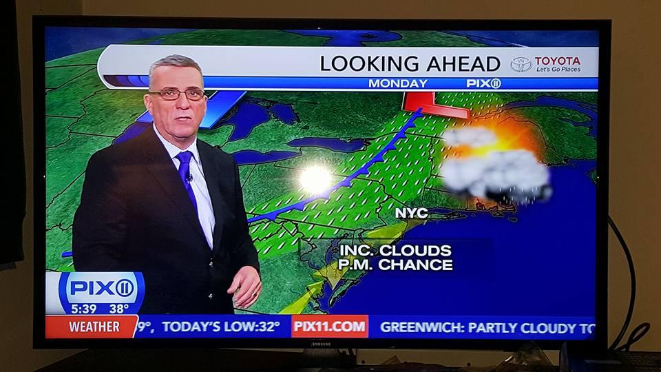 NYC Weather warmer