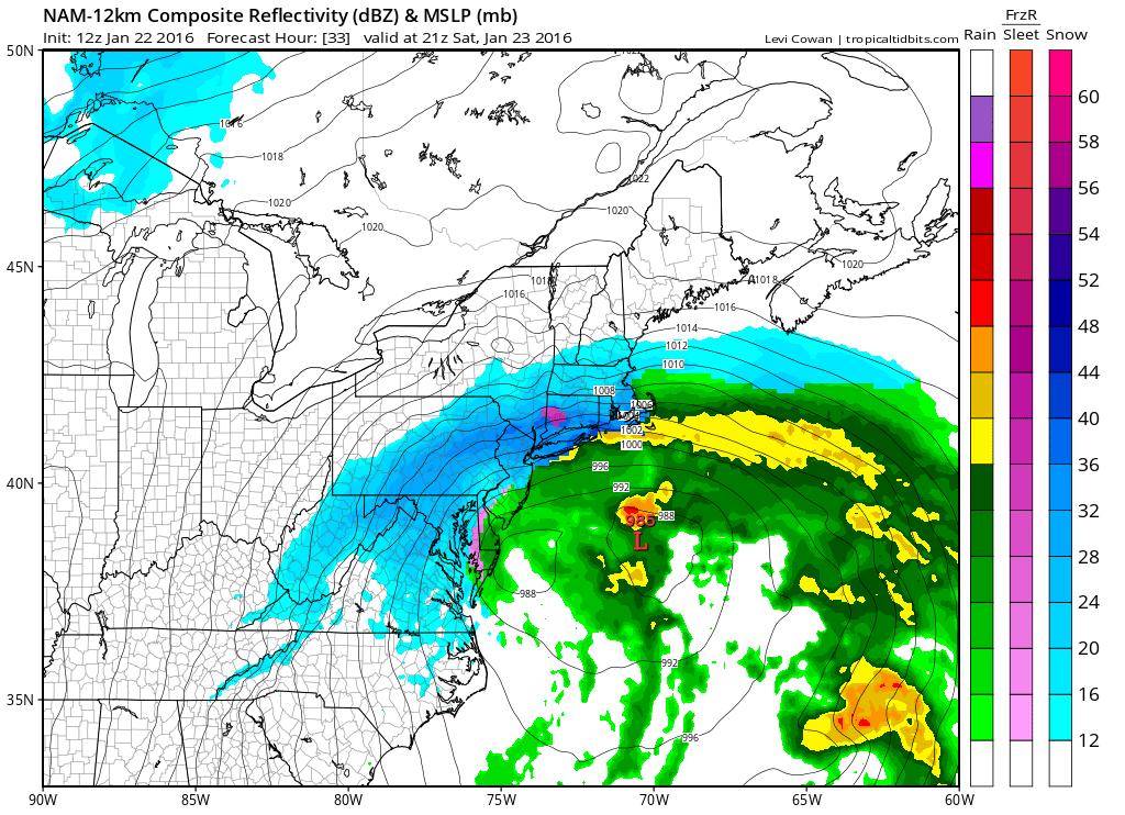 Blizzard Warning FiOS1 News Weather Long Island