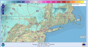 snow forecast weekend heavy rain gusty winds