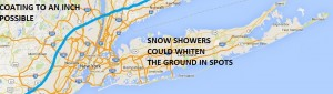long island snow snowfall forecast