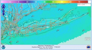 tuesday Long Island Weather Cold Dry