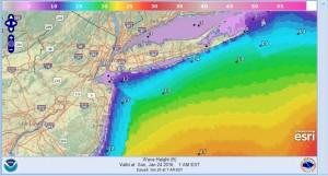 major coastal flooding snowfall forecast