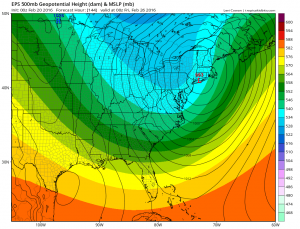 Euro Model Shifts Major Storm West