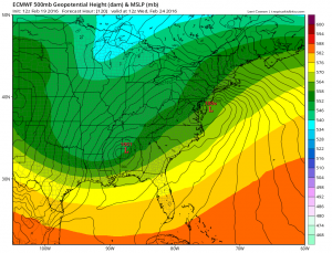 Euro Models Midweek Storm Update