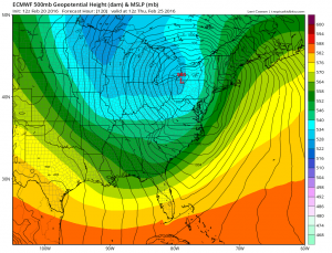 euro120 Euro Model Major Storm Threat Midweek