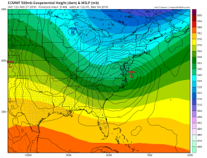 euro144 Euro Model March Snow Threat