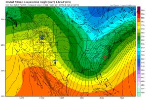 euro168 European Model Aggressive Next Week Storm Signal