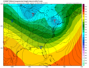 euro168 GFS Long Range Model Winter Storm Threat