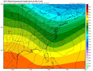 gefs Euro Model March Snow Threat