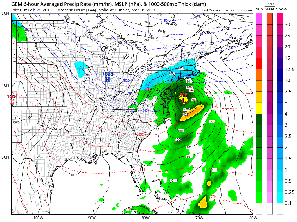 Canadian Weather Model Nam Model Gfs Model