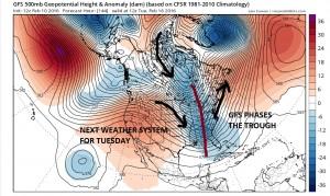 gfs144 Winter Weather Pattern