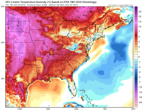 gfs168 Meteorological Spring Begins Tuesday