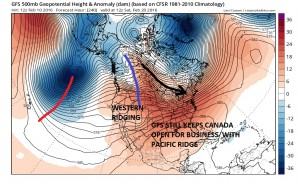 gfs240 Winter Weather Pattern