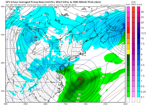 gfs30 Winter Storm Watch Tuesday South Jersey SE Pennsylvania