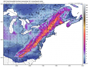 gfssnow GFS Long Range Model Winter Storm Threat