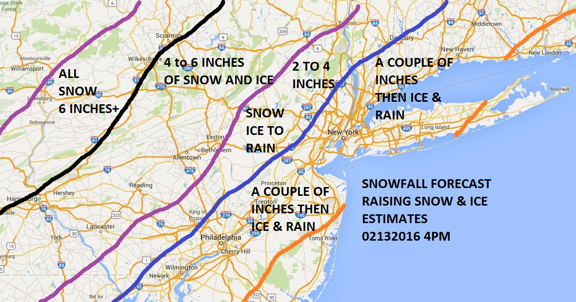 Snow Ice Forecast Raising Estimates