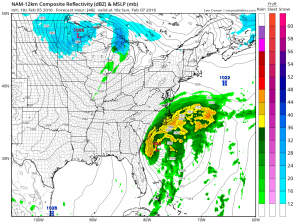 nam48 Snow Threat Sunday Night