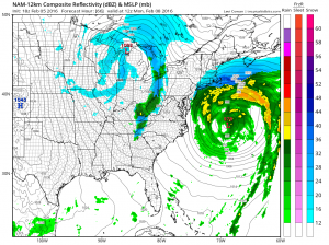 nam66 Snow Threat Sunday Night