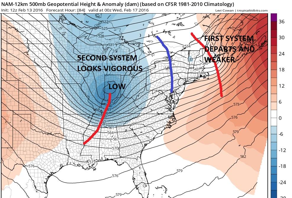 Snow Possibility Wednesday