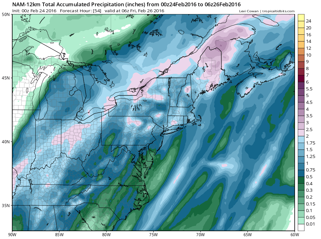 flooding possible wednesday