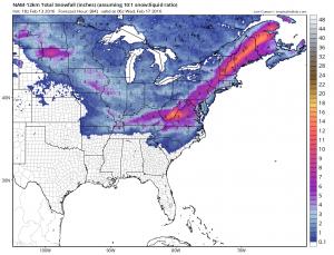 namsnow Snow Ice Forecast Raising Estimates