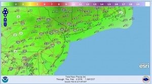 precip Flood Watch Central NJ SE Pennsylvania