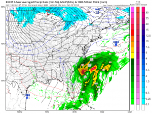 rgem48 Snow Threat Sunday Night