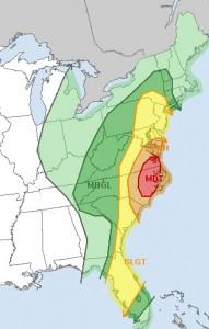 Severe Weather Threat New York New Jersey Heavy Rain Thunderstorms Underway