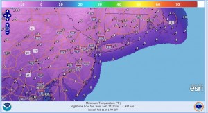Arctic Air Arrives Saturday