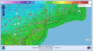 thursday Warmer Weekend Ahead